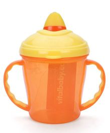 Vital Baby Free Flow Cup Orange - 180 ml