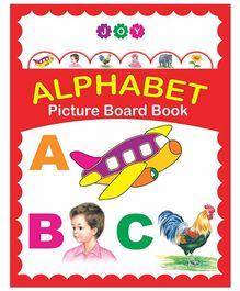 Alphabet Picture Board Book - English