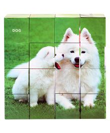 Ratnas Pet Animals Puzzle Cube