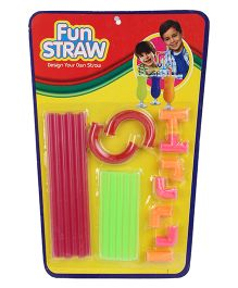 Ratnas Fun Straw - 21 Pieces