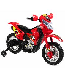 Happykids Battery Operated Ride On Motorbike - Red