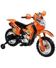 Happykids Battery Operated Ride On Motorbike - Orange