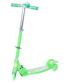 Happykids 3 Wheel Scooter With Bell Green - ST006G3303B