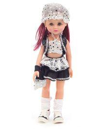 Speedage Anna Doll Black and White - 33.5 cm