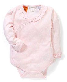 Pumpkin Patch Plain Crossover Bodysuit - Light Pink