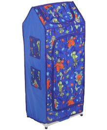 Lovely Multipurpose Almirah Joker Print - Blue