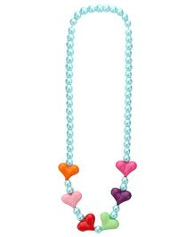De Berry Beaded Necklace - Blue