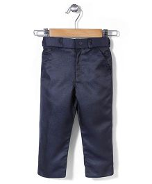 Babyhug Party Trouser - Navy
