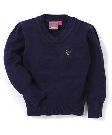 Vitamins Pullover Sweater - Navy Blue