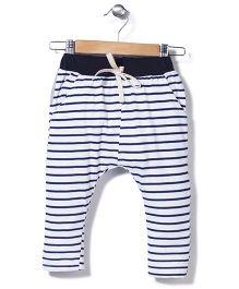 Jolly Jilla Stripes Pants - White