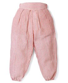 Jolly Jilla Striped Pajama - Peach