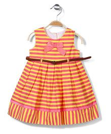 Bebe Wardrobe Party Dress - Yellow