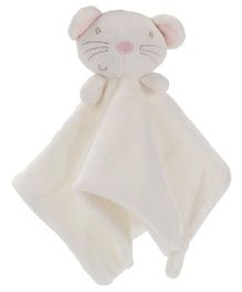 Pumpkin Patch Snuggle Comforter Mouse Design - White And Pink