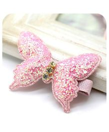Little Cuddle Butterfly Clip - Light Pink