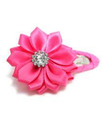 Little Cuddle Flower Hair Clip - Pink