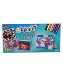 Toysbox DIY Clay It Have Fun With Clay And Picture Tray