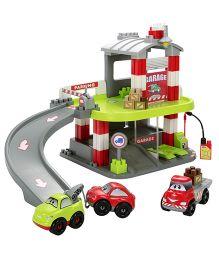 Ecoiffier Fast Car Garage - Multi Color