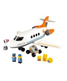 Ecoiffier Abrick Happy Jet Plane - White