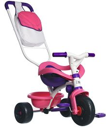 Smoby Be Move Comfort Girl Tricycle Pink & White - 444245