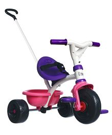 Smoby Be Move Girly Tricycle Purple & Pink - 444238