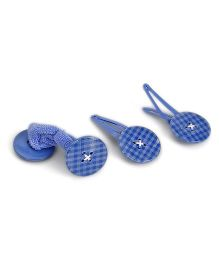 Pumpkin Patch Hair Clips Pack of 3 - Blue