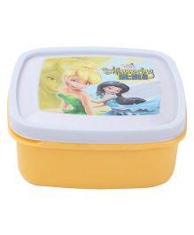 Cello Homeware Disney Fairies Print Container - Yellow