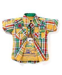 Noddy Original Clothing Shirt With Sleeveless T-Shirt - Yellow