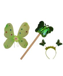 PartymanaoPlastic Wingset Single Layer - Green