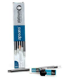 Apsara Platinum Rubber Tip Pencils - Pack of Ten