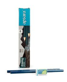 Apsara 2B Dark Pencils - Pack of 10
