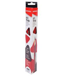 Nataraj Trio Pencils - Pack Of 10