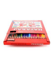 Nataraj Color Pencils - 24 Assorted Colors