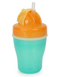 Pigeon  Spill Free Sipper Green And Orange - 260 ml