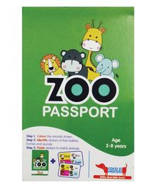 Cocomoco Zoo Passport Animals for Kids