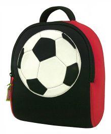 Elefantastik Game On Soccer Back Pack - Black And Red