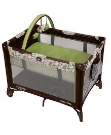 Graco Pack n Play On The Go Playard Zuba 1843721 - Green