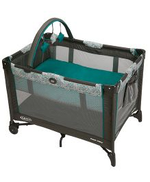 Graco Pack n Play On The Go Playard Smarties 1838219 - Green