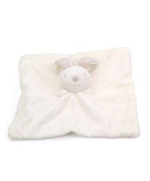 Pumpkin Patch Snuggle Comforter Bunny Design - White