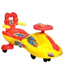 Fast N Furious Twister with Backrest - (Colors May Vary)