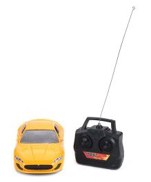 Playmate 4 way Remote controlled Car - Yellow