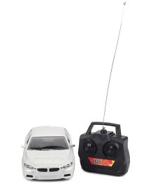 Playmate 4 way Remote controlled Car - White