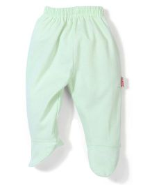 Child World Plain Bootie Leggings - Sea Green