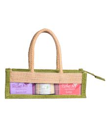 Rustic Art  Jute Gift Set Large  -  Pack of  5