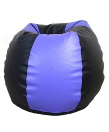 Orka Bean Filled Bag Black Purple - XL