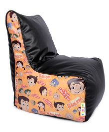 Orka Chhota Bheem Bean Filled Bag Chair Multicolour - XL