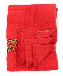Bath Buddy Bath Towel - Tomato Red