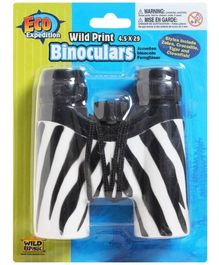 Wild Republic - Eco Expedition Zebra Print Binoculars