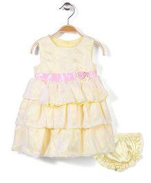 Nannette Baby Frock - Yellow