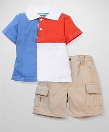 Boyz Wear by Nannette T-shirt & Pant Set - Multicolor