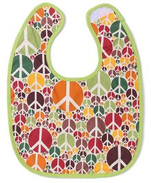 Funkie Baby Reversible Bib - Multicolour
